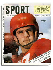 November 1948 SPORT Cover (Doak Walker, SMU)