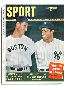 September 1948 SPORT Cover (Joe DiMaggio, New York Yankees, Ted Williams, Boston Red Sox)