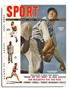 June 1949 SPORT Cover (Hal Newhouser, Detroit Tigers)