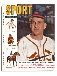 May 1949 SPORT Cover (Enos Slaughter, St. Louis Cardinals)