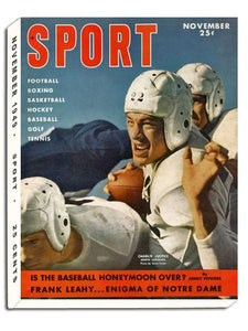 November 1949 SPORT Cover (Charlie Justice, University of North Carolina)
