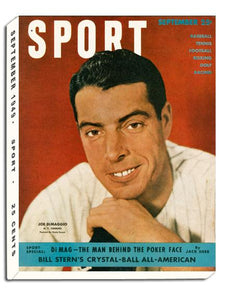 September 1949 SPORT Cover (Joe DiMaggio, New York Yankees)