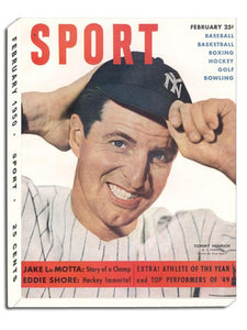 February 1950 SPORT Cover (Tommy Henrich, New York Yankees)