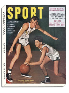 January 1950 SPORT Cover (Don Lofgran, Rene Herrerias, University of San Francisco)