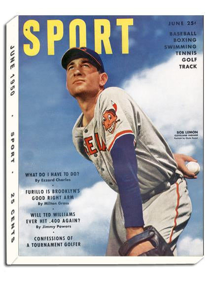 June 1950 SPORT Cover (Bob Lemon, Cleveland Indians)