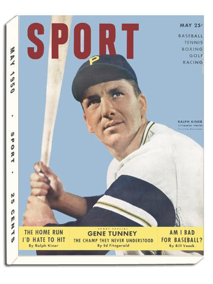 May 1950 SPORT Cover (Ralph Kiner, Pittsburgh Pirates)