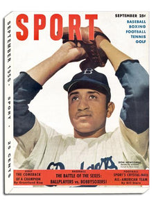 September 1950 SPORT Cover (Don Newcombe, Brooklyn Dodgers)