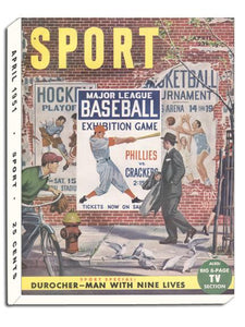 April 1951 Sport Cover (Sports Illustration)