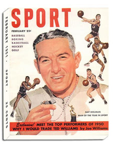 February 1951 SPORT Cover (Nat Holman)