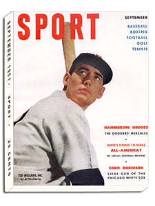 September 1951 Sport Cover (Ted Williams, Boston Red Sox)