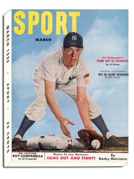 March 1952 Sport Cover (Gil McDougald, New York Yankees)
