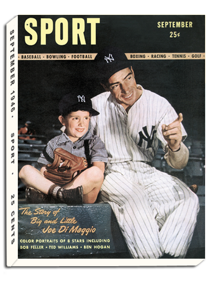 September 1946 SPORT Cover (Joe DiMaggio, New York Yankees)