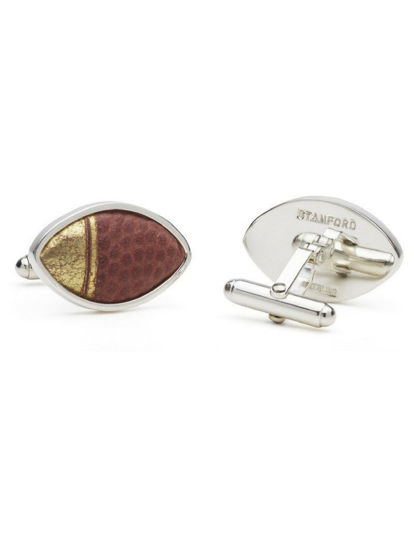 Game-Used NCAA College Football Cuff Links