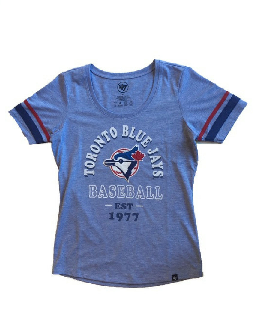 Toronto Blue Jays MLB Women's Fantasy Scoop Tee