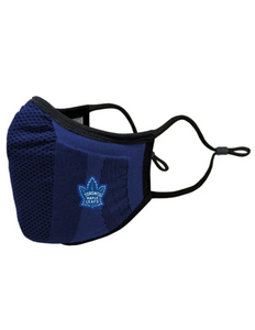 Toronto Maple Leafs Core Logo Adult Face Mask (Heritage Navy Leaf)