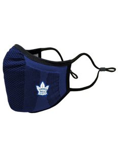 Toronto Maple Leafs Core Logo Adult Face Mask (Heritage White Leaf)