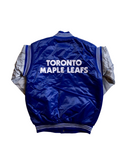 Toronto Maple Leafs Varsity Satin Starter Jacket