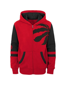 Toronto Raptors Full Zip Fleece Hoodie (Infant - Youth)