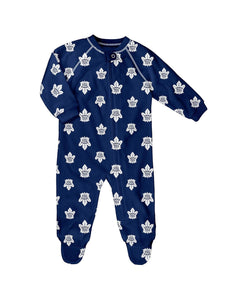Toronto Maple Leafs Infant/Toddler/Kids Raglan Zip Up Cover All