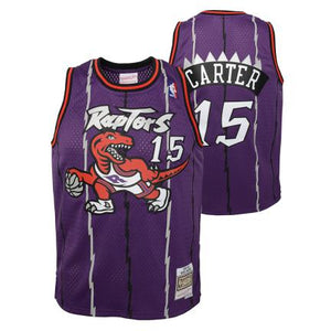 Vince Carter Toronto Raptors 1995 Kids/Youth Jersey
