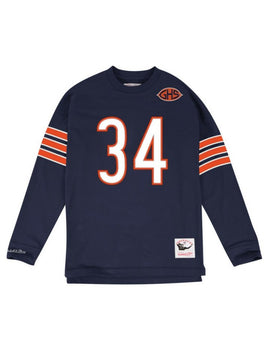 Chicago Bears Walter Payton Name and Number Long Sleeve