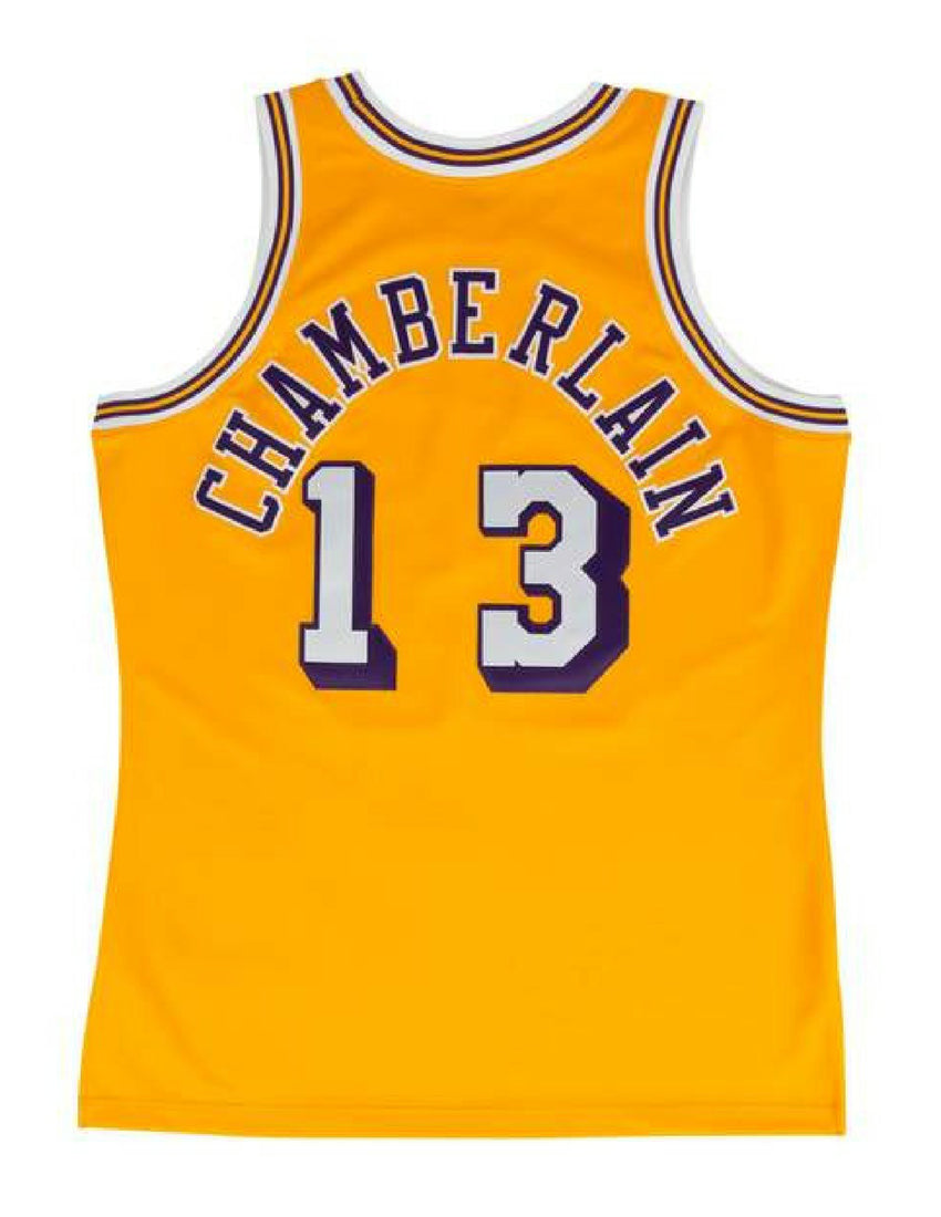 2c4522b5854 Los Angeles Lakers 1971-72 Wilt Chamberlain Swingman Jersey – The ...