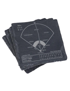 New York Yankees Greatest Plays in Sports Coaster