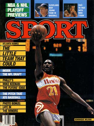 May 1987 Sport Cover (Dominique Wilkins, Atlanta Hawks)