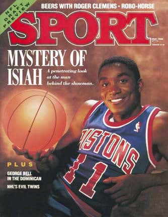 May 1988 Sport Cover (Isiah Thomas, Detroit Pistons)