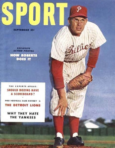 September 1953 Sport Cover (Robin Roberts, Philadelphia Phillies)