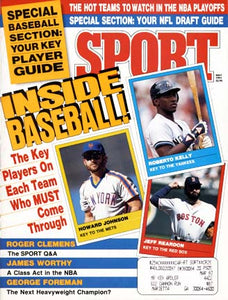 May 1991 Sport Cover (Roberto Kelly of the New York Yankees, Howard Johnson of the New York Mets and Jeff Reardon of the Boston Red Sox)