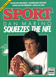 October 1986 Sport Cover (Dan Marino, Miami Dolphins)