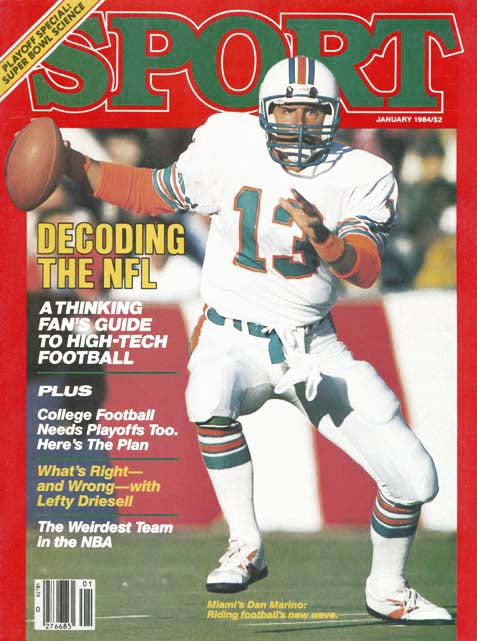 January 1984 Sport Cover (Dan Marino, Miami Dolphins)