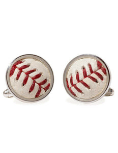 Game-Used Baseball Cuff Links