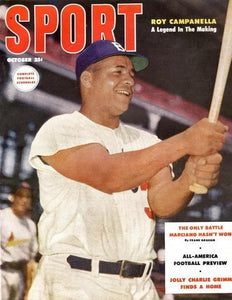 October 1953 Sport Cover (Roy Campanella, Brooklyn Dodgers)