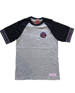 Toronto Raptors Captain Raglan Tee (Grey)