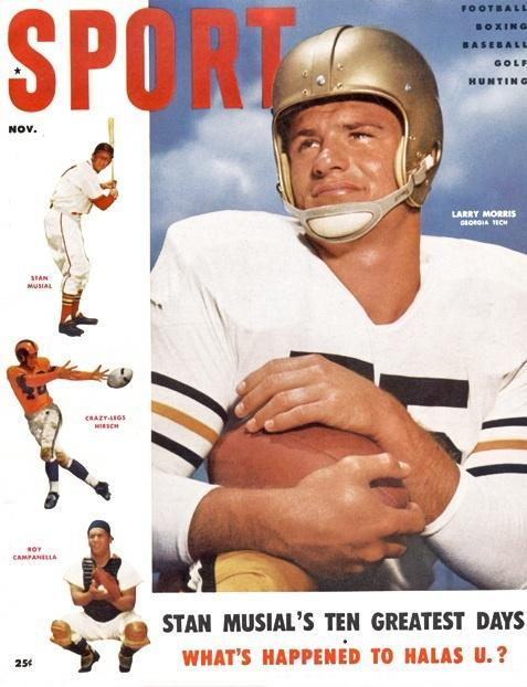 November 1954 Sport Cover (Larry Morris, Georgia Tech)