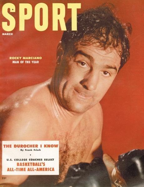 March 1955 Sport Cover (Rocky Marciano, Boxing)