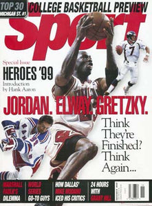 November 1999 Sport Cover (Wayne Gretzky, Michael Jordan and John Elway)