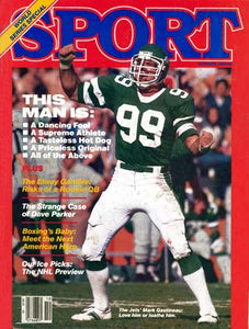 October 1983 Sport Cover (Marc Gastineau, New York Jets)
