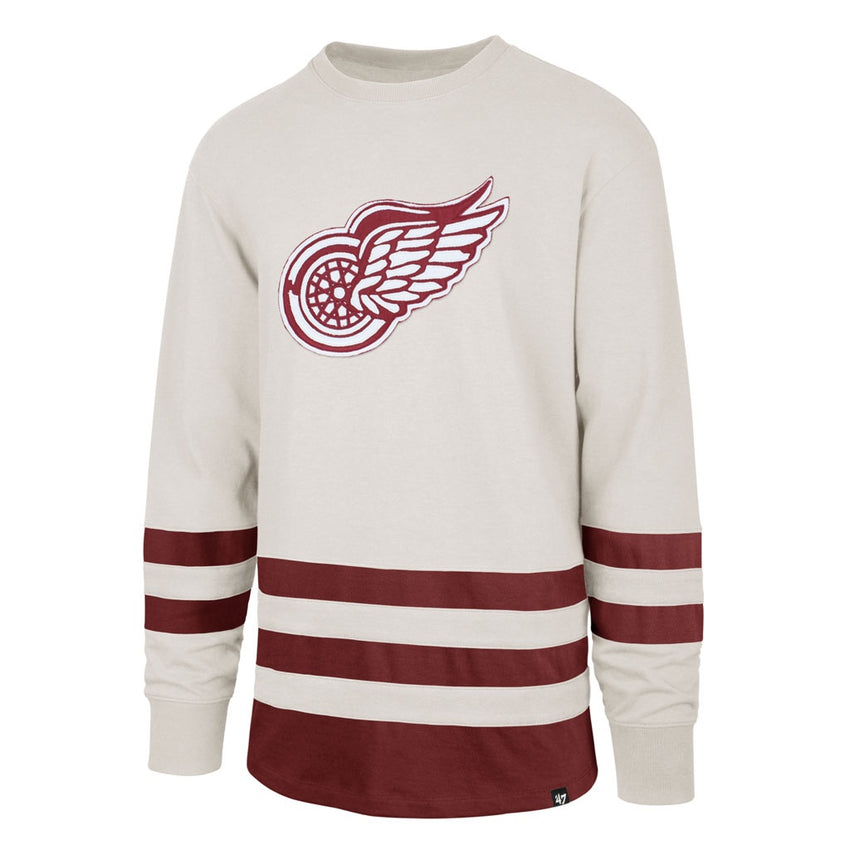 Detroit Red Wings Center Ice Vintage-Inspired Jersey