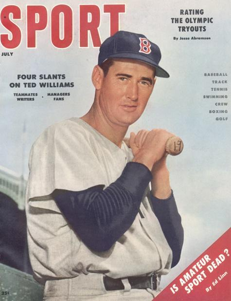 July 1956 Sport Cover (Ted Williams, Boston Red Sox)