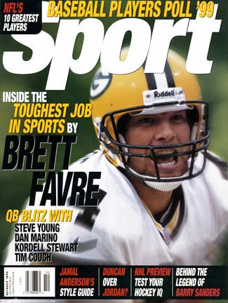 October 1999 Sport Cover (Brett Favre, Green Bay Packers)