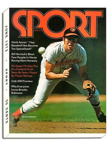 June 1972 Sport Cover (Brooks Robinson, Baltimore Orioles)
