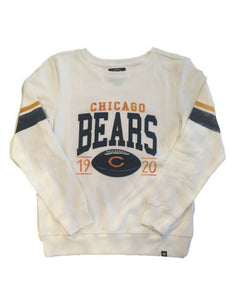 Chicago Bears Womens NFL Ultra Throwback Crew Sweater