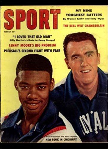 March 1961 Sport cover (Oscar Robertson and Jack Twyman, Cincinnati Royals)