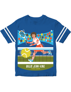Billie Jean King Kids' Trailblazer Tee