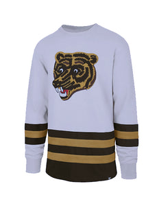 Boston Bruins Center Ice Vintage-Inspired Jersey