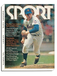 August 1972 Sport Cover (Tom Seaver, New York Mets)