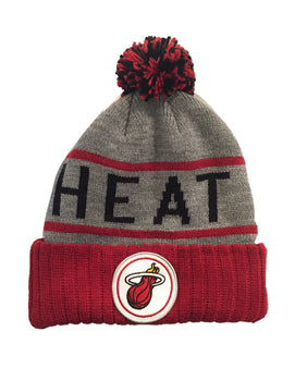 Miami Heat High Five Cuffed Knit Toque
